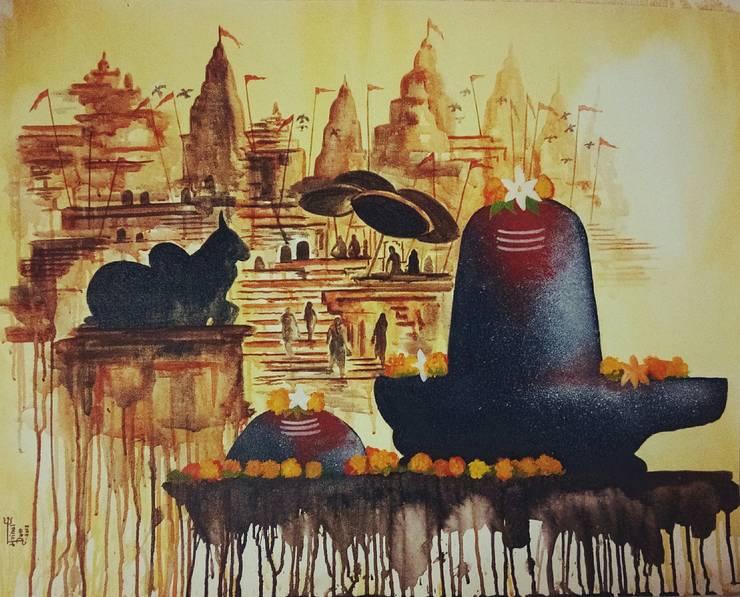 Amritam Gamaya: asian  by Indian Art Ideas,Asian