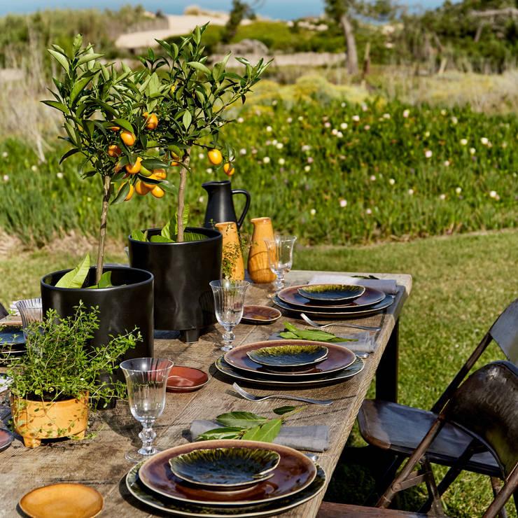 Coleção Riviera: Sala de jantar  por COSTA NOVA