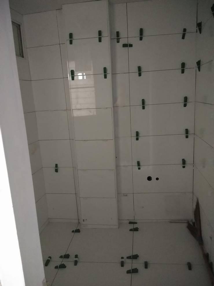 Renovate ห้องน้ำ @ รพ.รัทรินทร์ บางปู:   by P Knockdown Style Modern