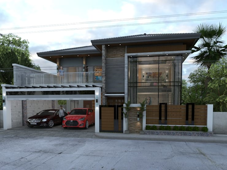 MODERN HOUSE DESIGN:   by Dennis Gomez CAD Services