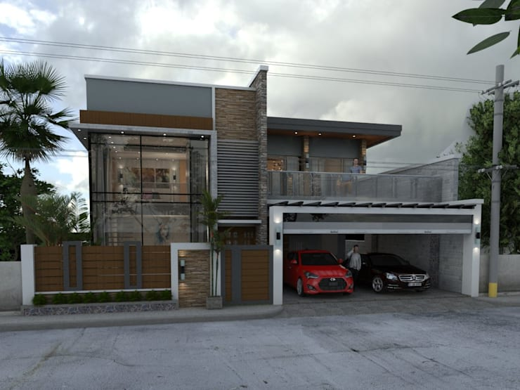​MODERN HOUSE DESIGN:   by Dennis Gomez CAD Services
