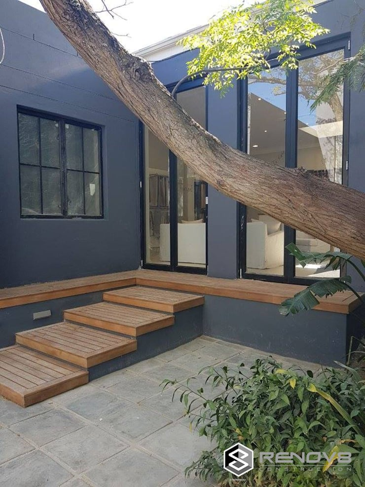 Completed Courtyard:   by Renov8 CONSTRUCTION