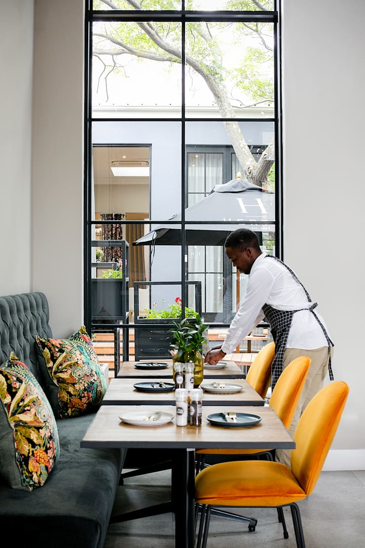 Eatery - Hertex, Gardens, Cape Town:   by Renov8 CONSTRUCTION