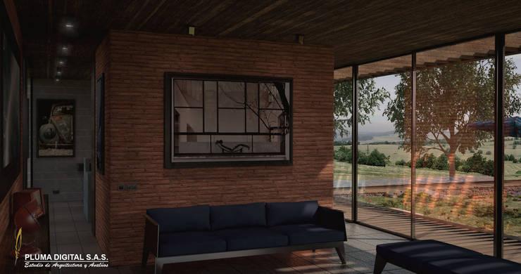 Concurso Visualización Arquitectónica: Salas de estilo  por PLUMA DIGITAL SAS., Moderno