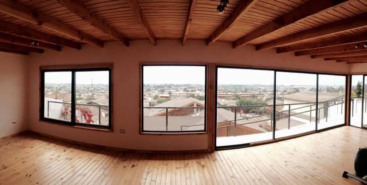 VISTA DEL  DEPARTAMENTO: Casas de estilo  por arquiroots