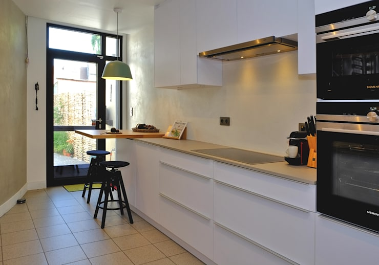 Built-in kitchens by De Heeren
