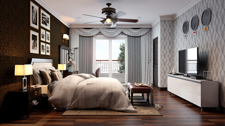 Master Bedroom :  Kamar Tidur by Revel