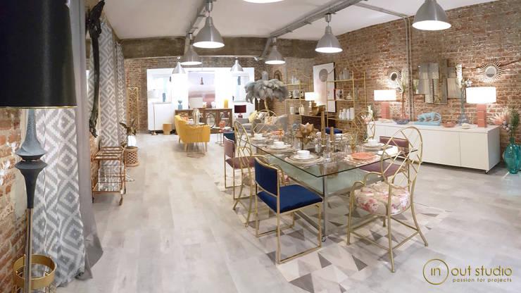 Proyecto THE LOFT: Salones de estilo  de Muebles Marieta