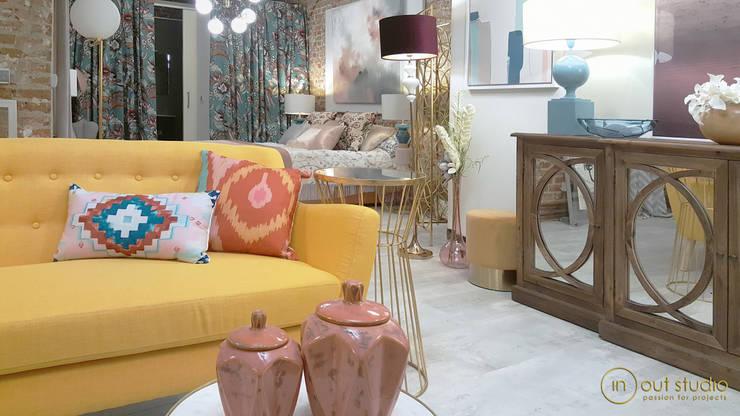 Sala de estar  por Muebles Marieta