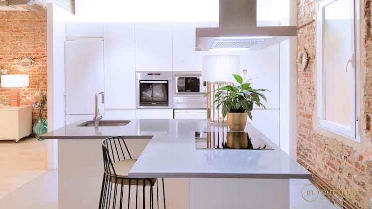 Cozinha  por Muebles Marieta