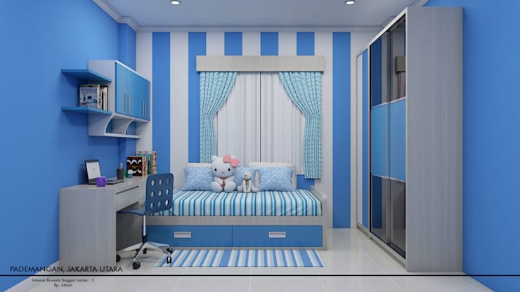 Kids Bedroom:  Kamar Bayi & Anak by Revel