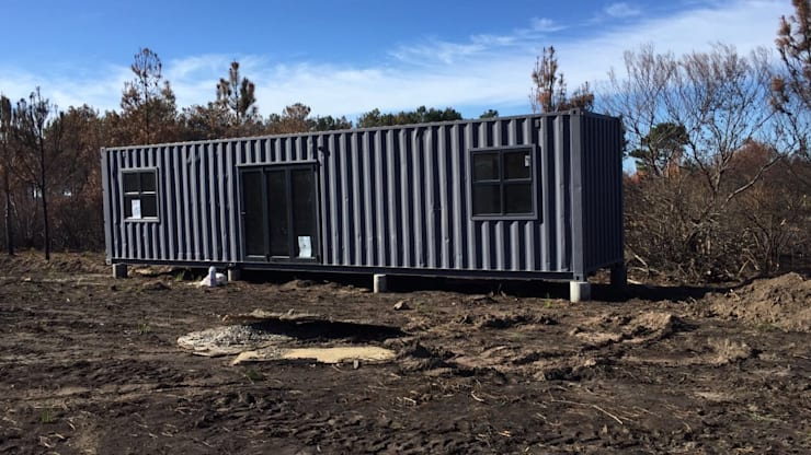 Prefabricated home by Berman-Kalil Housing Concepts,