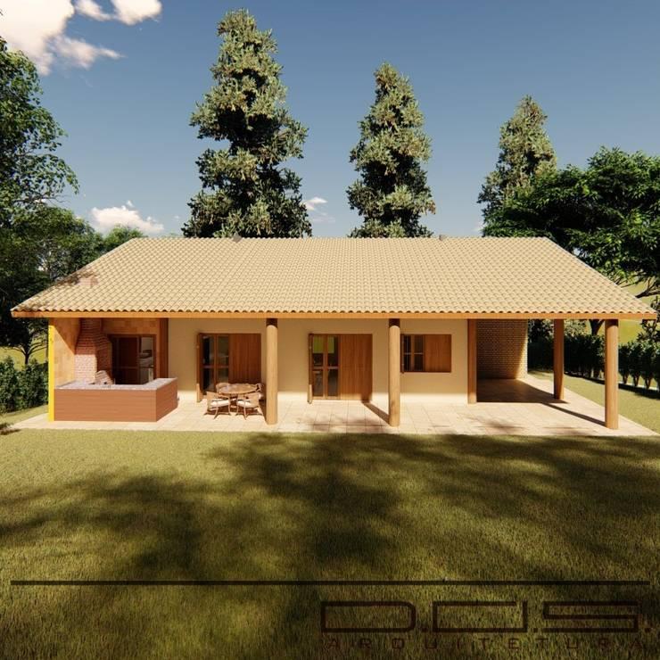 Casa De Campo J. W. Por D.O.S. Arquitetura
