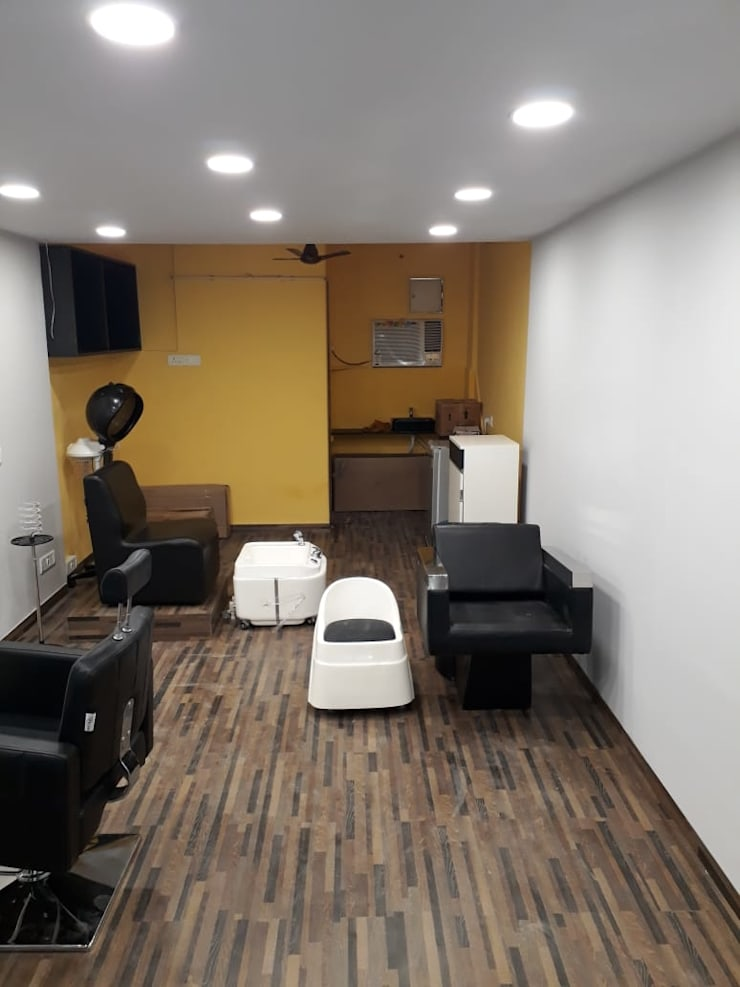 Corridor & hallway by Interioarch Design Lab, Modern Tiles