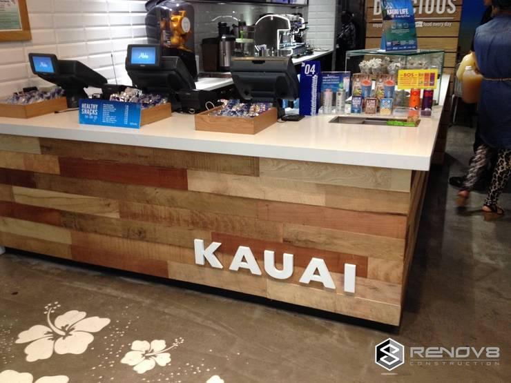 Kauai, Cape Town:  Shopping Centres by Renov8 CONSTRUCTION, Rustic