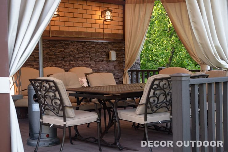 classic  by DECOR OUTDOOR, Classic Textile Amber/Gold