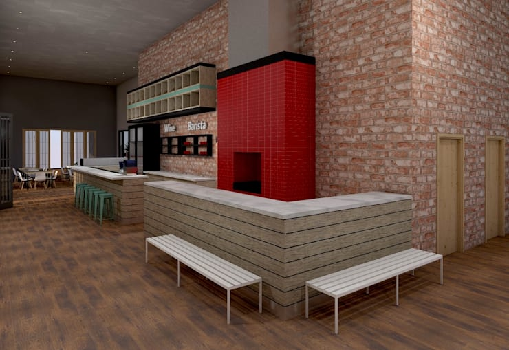 3D Visualization:   by LINE Creative Interiors