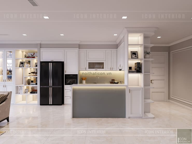 Projekty,  Kuchnia zaprojektowane przez ICON INTERIOR