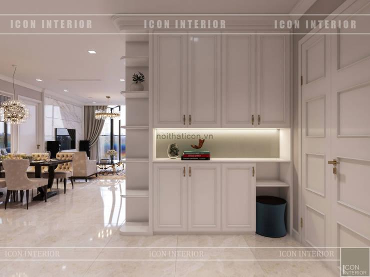 Vinhomes Golden River đẳng cấp với phong cách thiết kế Tân Cổ Điển:  Cửa ra vào by ICON INTERIOR