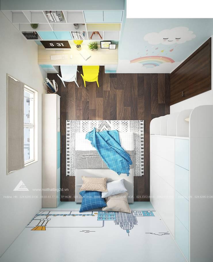 Tư vấn thiết kế, sản xuất & thi công nội thất:  Dining room by Công ty Cổ phần Big2D