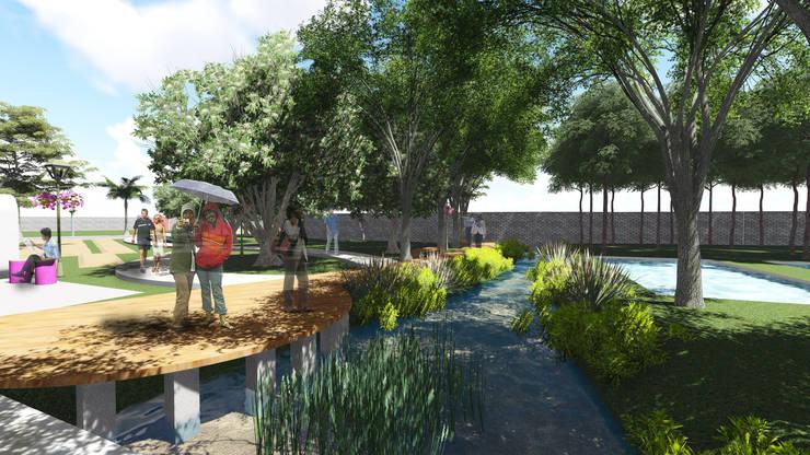 Commercial Spaces by 1mm studio | Landscape Design