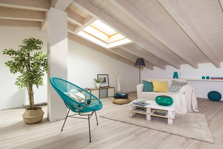 Salones de estilo  de Boite Maison, Moderno