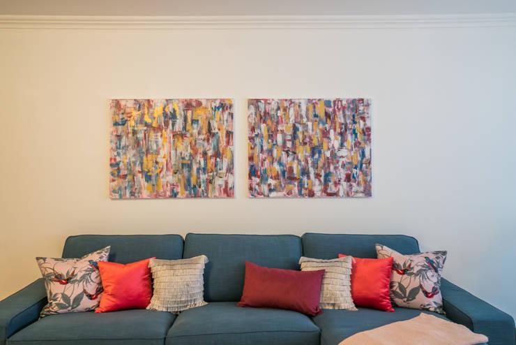 SALA: Sala de estar  por YS PROJECT DESIGN