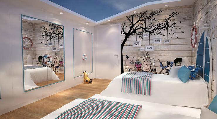novum dekor – erkek çocuk odası: tarz Erkek çocuk yatak odası