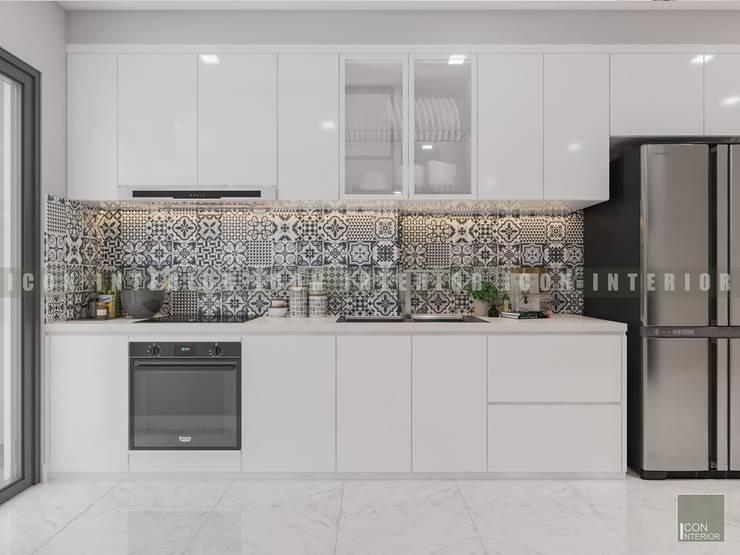Vẻ đẹp thanh lịch đến từ sự đơn giản – Phong cách thiết kế hiện đại:  Nhà bếp by ICON INTERIOR