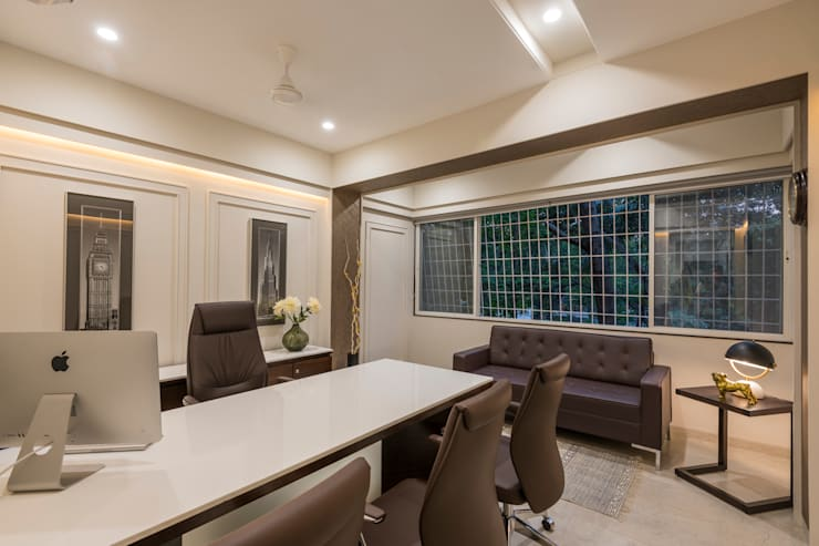 Developers Office Interiors:  Commercial Spaces by AA ARCHITECTS,Classic