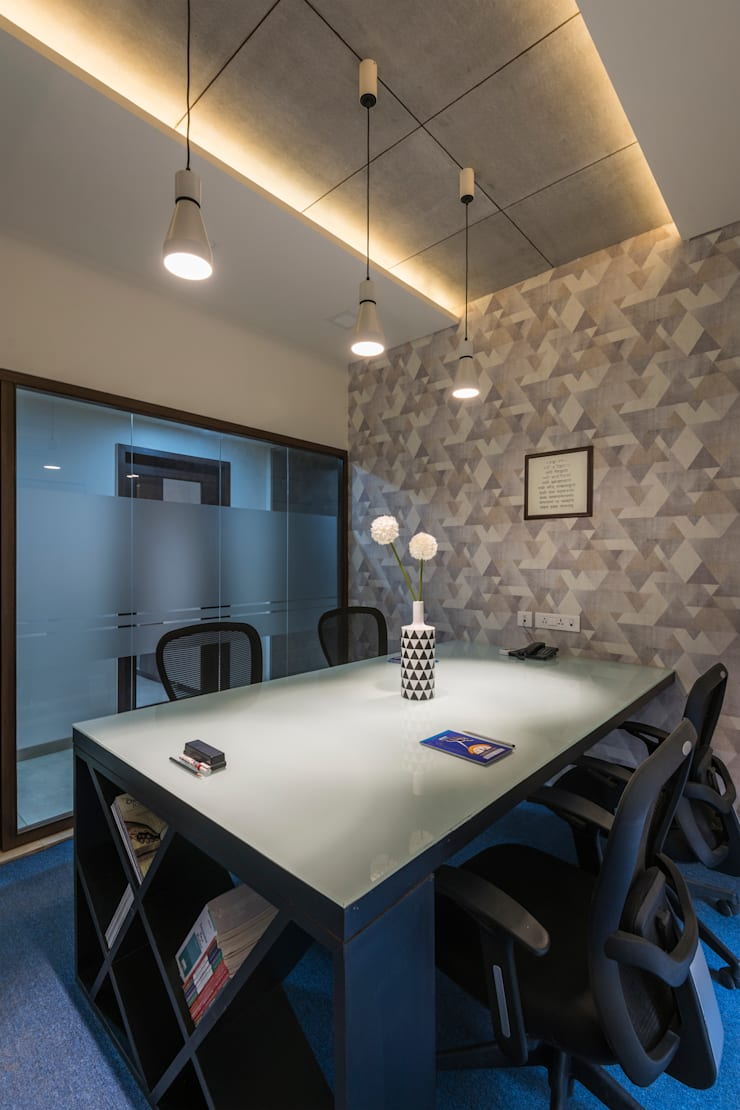 Developers Office Interiors:  Commercial Spaces by AA ARCHITECTS,Modern