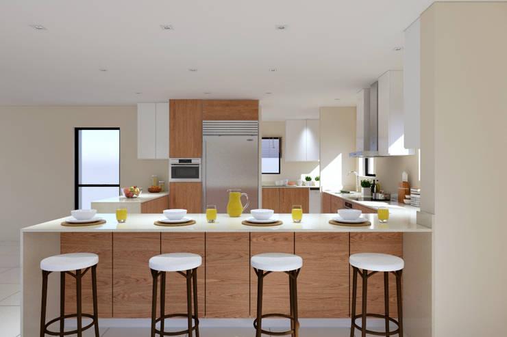 Thornhill Estate Kitchen: modern Kitchen by Linken Designs