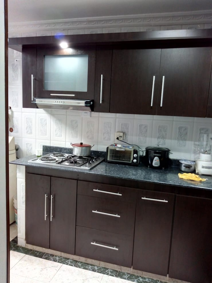Kitchen units by Trazos Studio SAS