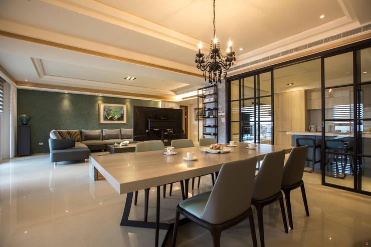 富立建設/耘非凡-旅程藍圖:  餐廳 by SING萬寶隆空間設計