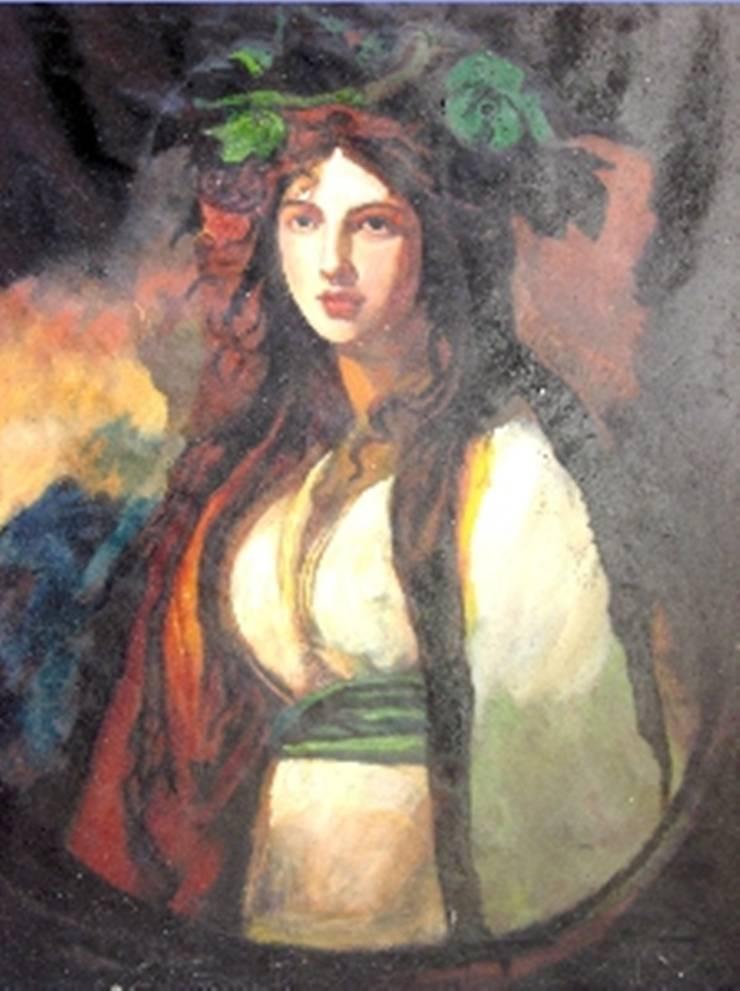 Lady hamilton: asian  by Indian Art Ideas,Asian