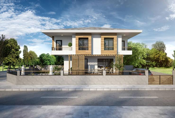 yücel partners – Villa Eylül:  tarz Müstakil ev
