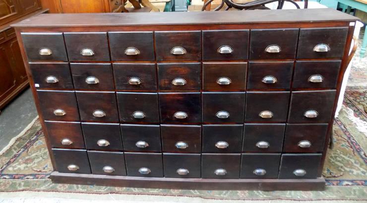 CAJONERA ANTIGUA:  de estilo industrial por Muebles eran los de antes - Buenos Aires,Industrial Madera maciza Multicolor