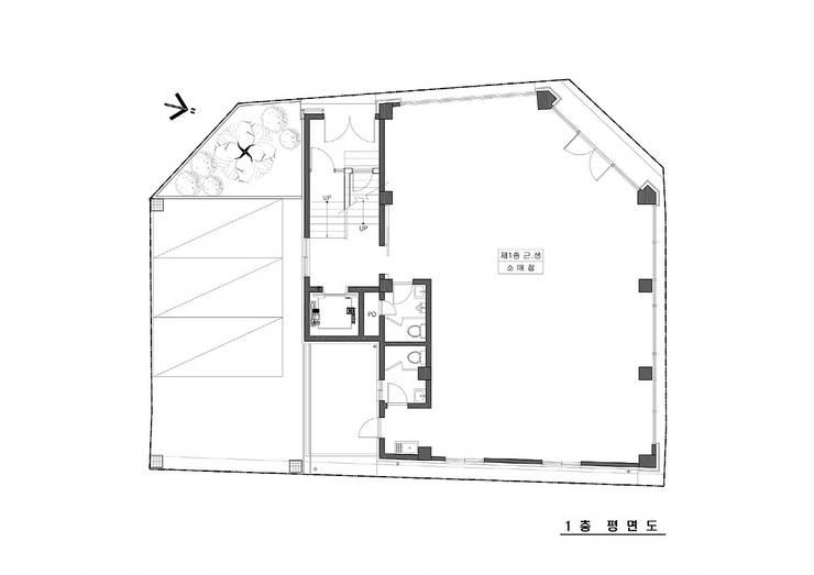 마동 K씨 빌딩: 인중헌 건축사 사무소의
