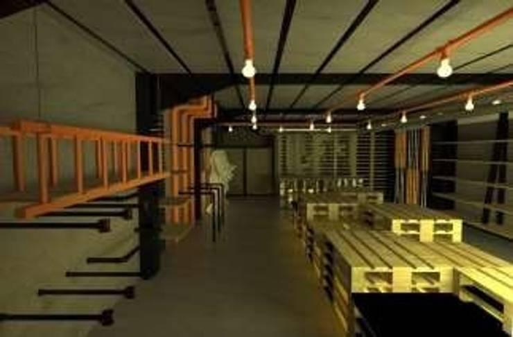 C.C Santa Fe, Diseño de Retail Spartan : Oficinas y tiendas de estilo  por Collao&Nammour