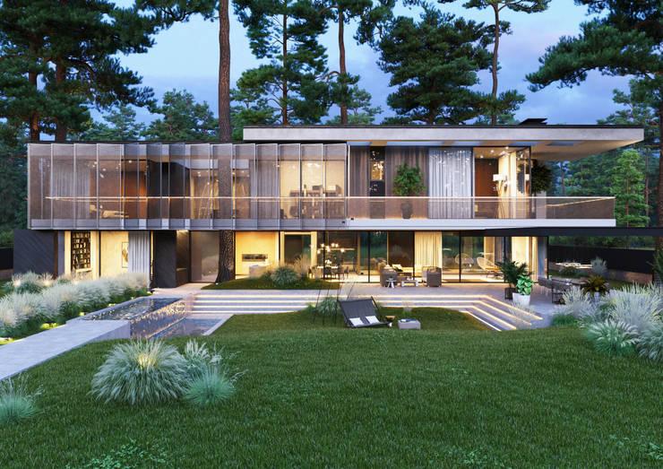 House 77: Загородные дома в . Автор – Kerimov Architects