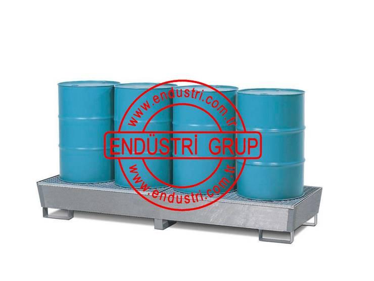 ENDÜSTRİ GRUP – ENDÜSTRİ GRUP- Sıvı Yağ Toplama Küveti İbc Tank Kimyasal Paleti:  tarz