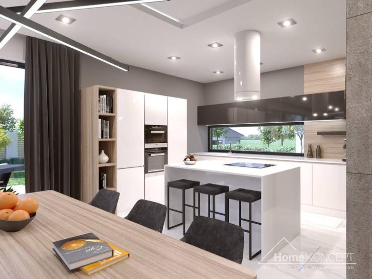 Встроенные кухни в . Автор – HomeKONCEPT | Projekty Domów Nowoczesnych