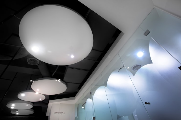 中瀛科技實驗室  辦公室設計:  室內景觀 by 成寰設計有限公司