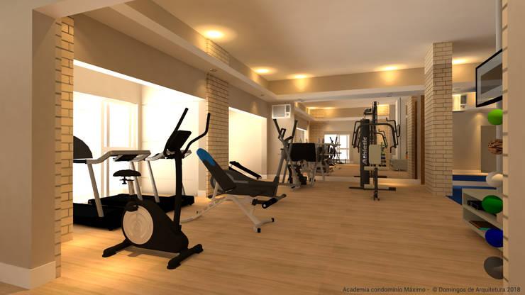 Academia: Fitness  por Domingos de Arquitetura