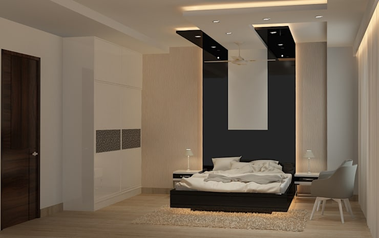 Project: modern Bedroom by MAG Consultancy