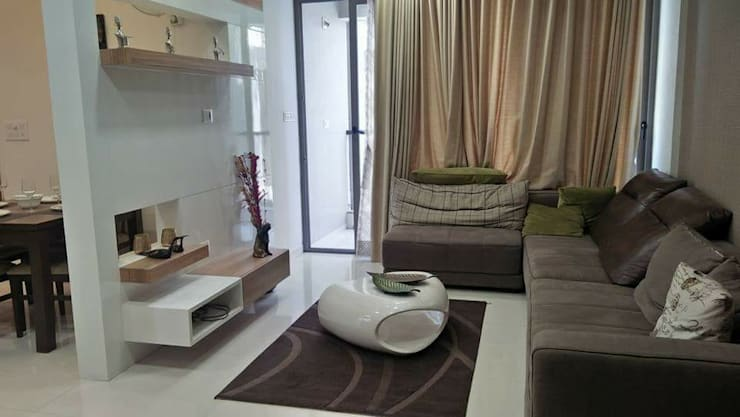 Project: modern Living room by MADE AFTER DESIGN LLP
