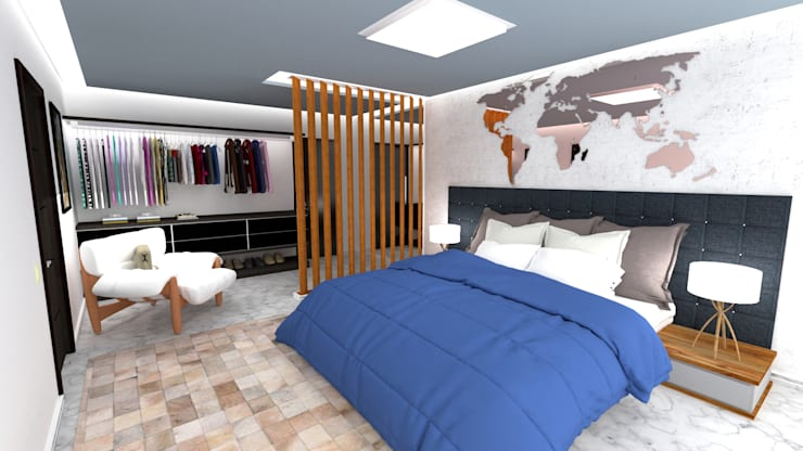 Room: Closets modernos por Eduardo Luizi