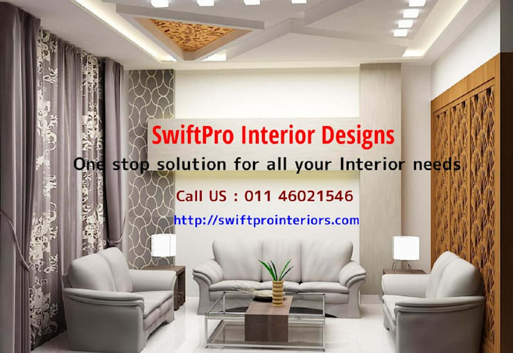 Interior Architects Designers in Delhi NCR:   by Swiftpro Interior Designers in Delhi,