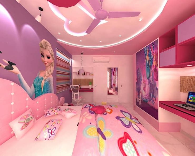Project:  Nursery/kid's room by MADE AFTER DESIGN LLP,Modern