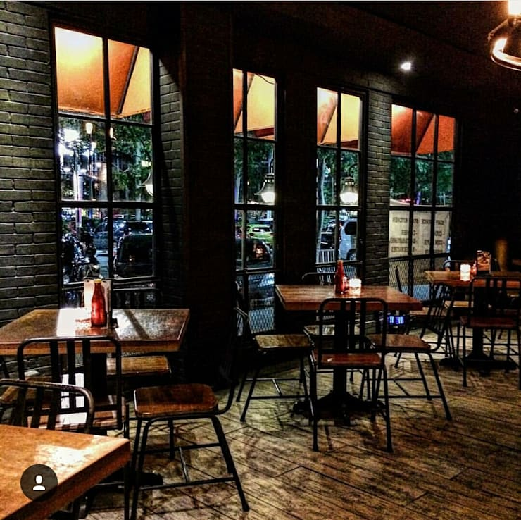 Bastardo Resto:  Restoran by Elora Desain